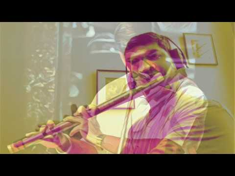 Song Dandalayya - Bahubali on flute by Vivek V Krishna
