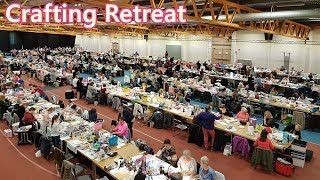 Crafting Retreat Stockholm Hobby & Craft - Packing for Crap, Haul & Scrapbook Lay Out share