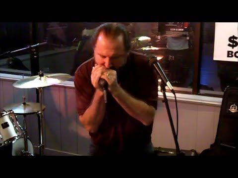 Toolshed Band Blues Jam @ The Draw 10 Bar & Grill ~ Barry Logan & Charles Mack   1312018