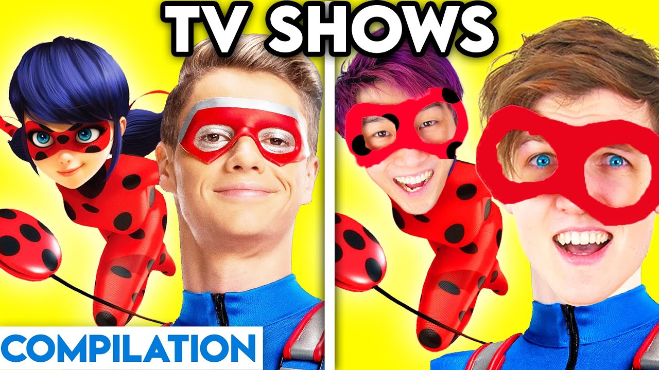 TV SHOWS WITH ZERO BUDGET! (Miraculous Ladybug, Henry Danger, Top Wing, Talking Angela, & MORE!)
