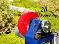 Cómo hacer una bomba de agua turbina de agua