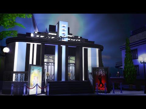 The Sims 4 Build | Art Deco Cinema