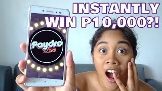 Download Video PAYDRO LIVE ft. Sam YG | App Review MP3 3GP MP4