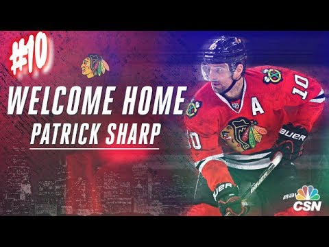 WELCOME HOME PATRICK SHARP