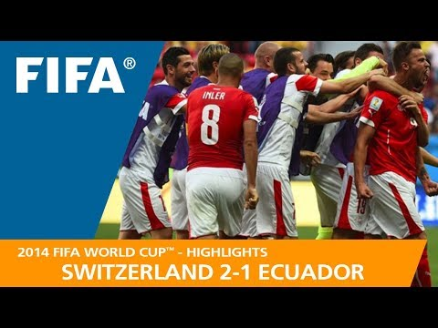 SWITZERLAND v ECUADOR (2:1) - 2014 FIFA World Cup™