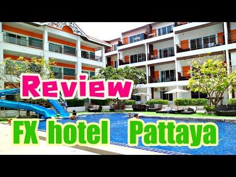 Review FX hotel Pattaya รีวิวโรงแรมเอฟเอ็กซ์พัทยา ที่พักบรรยากาศดี เดินเที่ยวถนนคนเดิน ไหว้พระวัดพระ