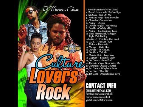 "Dj Marvin Chin ""Lover's Rock"" 2018 Chronixx, Jah Cure, Beres Hammond"