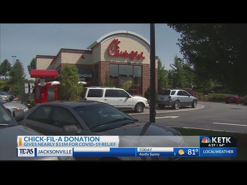Chick-Fil-A to donate $11 million to local communities impacted by coroanvirus