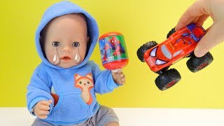 МИШУ НИКТО НЕ ЛЮБИТ Куклы Пупсики #БебиБон Игрушки Машинки Сюрпризы Для Мальчиков
