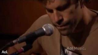 Jack Johnson - No Good With Faces AOL Sessions.  A