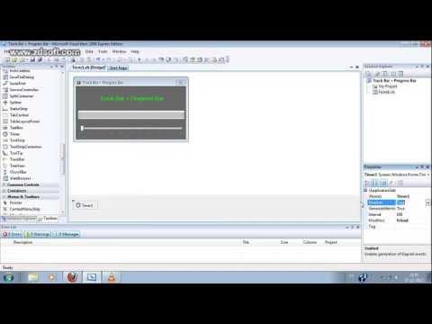 Visual Basic 2008: Track Bar + Progress Bar