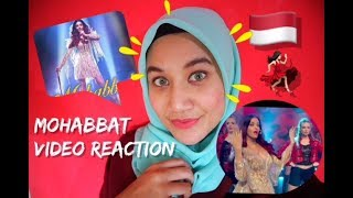 Mohabbat Video Song | FANNEY KHAN | Aishwarya Rai Bachchan | Sunidhi Chauhan | INDONESIA REACTION