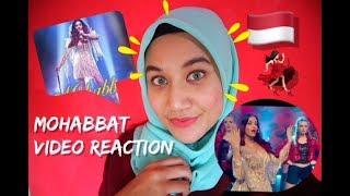 Mohabbat Video Song | FANNEY KHAN | Aishwarya Rai Bachchan | Sunidhi Chauhan | INDONESIA REACTION