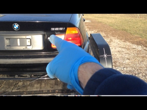 Going To Pickup A Bmw E46 And Car Trailer Towing Tips Youtube