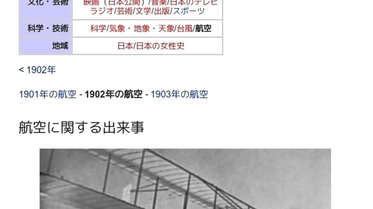 1902年の航空