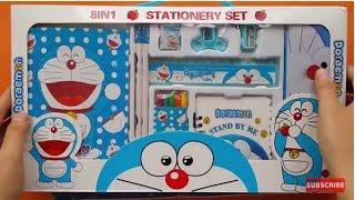 Chị Bánh Kem Tặng Qùa Đồ Chơi Doraemon và Hướng Dẫn Bé Tô Tranh Mini Game 1