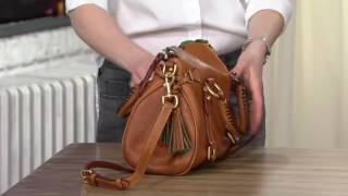 Dooney & Bourke Florentine Vachetta Leather Small Satchel on QVC