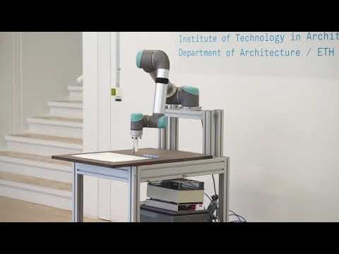 Wind Flow - Robotic Drawing , MAS Digital Fabrication, ETH Zürich