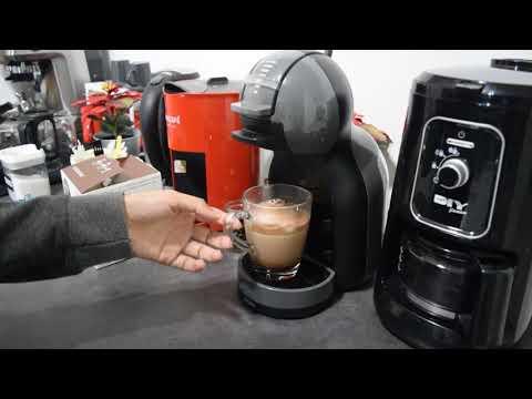 Making Chococino Using NESCAFE Dolce Gusto Mini Me Coffee Machine