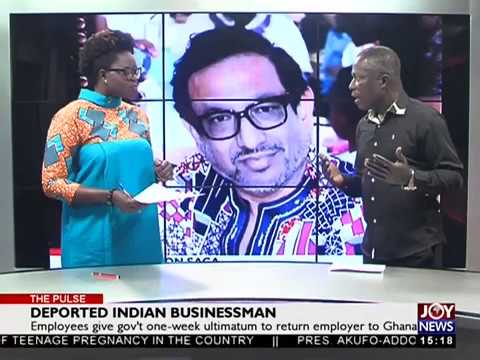 Deported Indian Businessman - The Pulse on JoyNews (16-3-18)