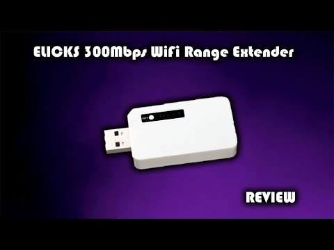ELICKS 300Mbps USB WiFi Range Extender Review