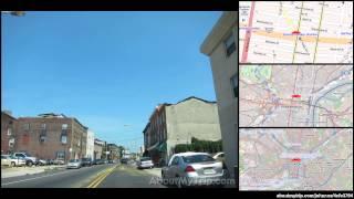 rittenhouse square philadelphia city center west pennsylvania to bakers ln tioga nicetow
