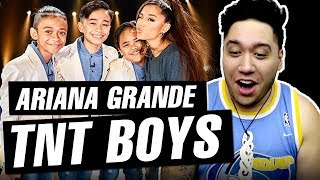 Ariana Grande Surprises TNT Boys on The Late Late Show with James Corden REACTION!!!