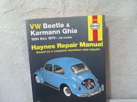 karmann ghia 1974 repair service manual