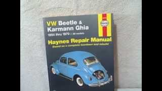 Haynes VW Beetle Karmann Ghia 1954 - 1979 Repair Manual VolksWagen 1850107297(For sale a used book titled VW Beetle 1200 and Karman Ghia 1954-1979 No. 36 by John Haynes and D. M. Stead (1974, Paperback, Revised). Book is in real ..., 2012-08-21T23:33:37.000Z)