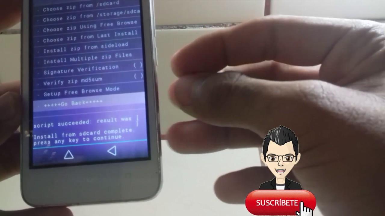 Instalar la mejor Custom Rom para Huawei Ascend Y360