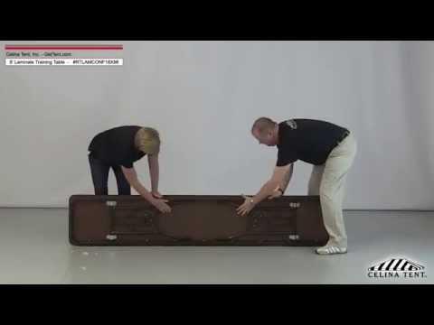 8' Laminate Training Tables