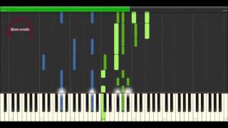 Valse No 13 in Db, Op 70 - 3 - Frederic Chopin [Piano Tutorial] (Synthesia)
