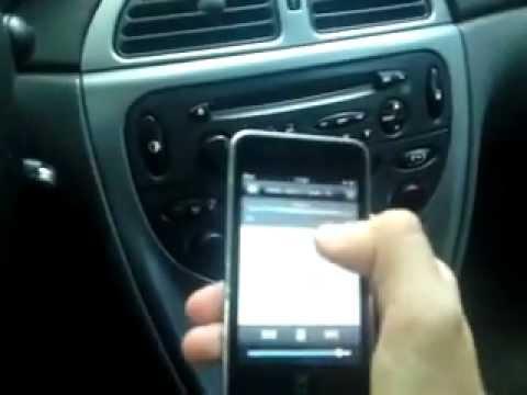 Ipod conectat prin modulator FM ( Citroen C5 )