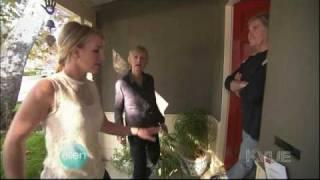 Ellen & Britney Spears Go Caroling! HD 720p