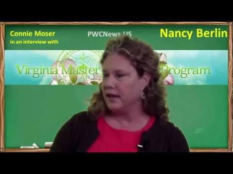 An interview with Nancy Berlin, Virginia Cooperative Extension, Manassas, Virginia
