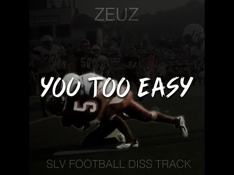 Zeuz - You Too Easy (SLV Football Diss Track) (Official Music Video)