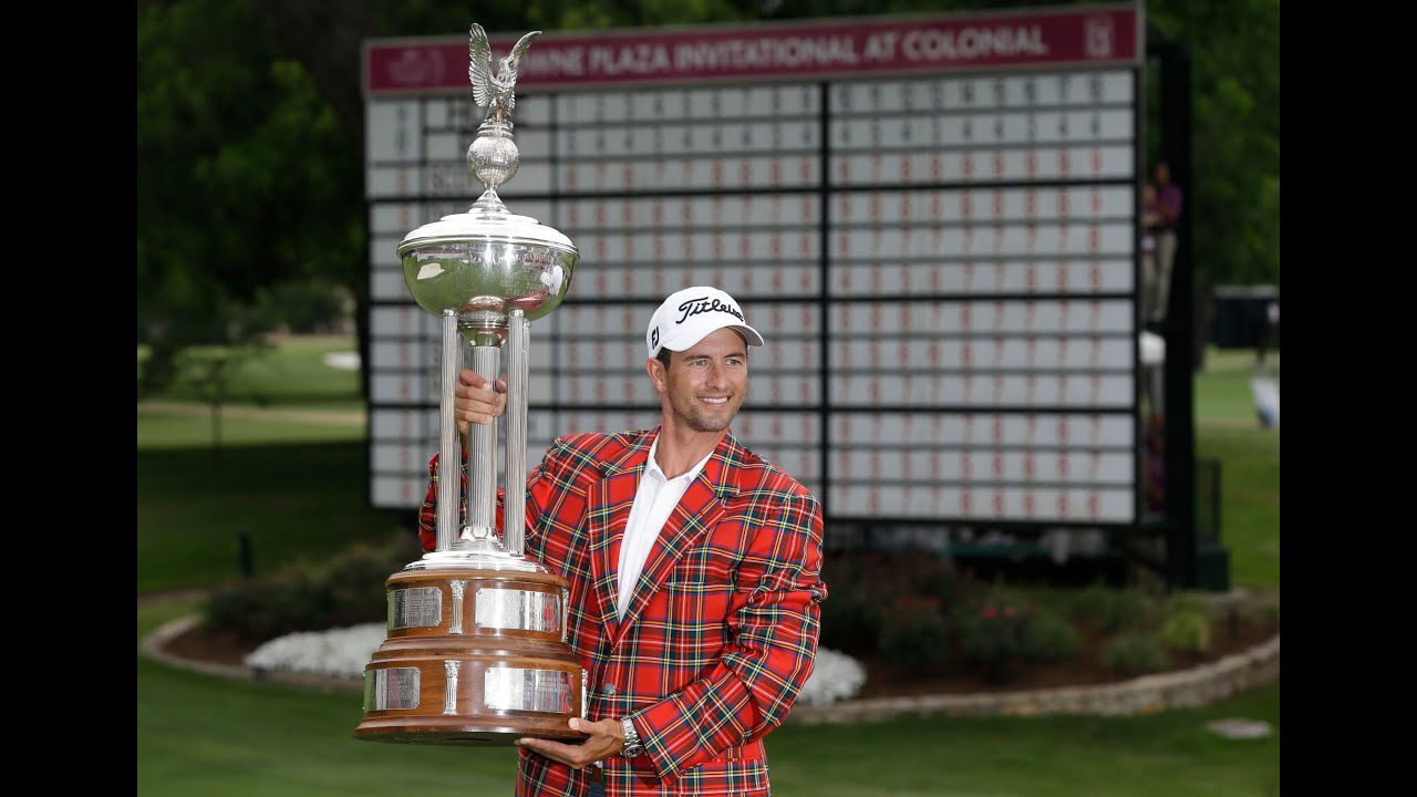Winner's Circle: 2014 Crowne Plaza Invitational at Colonial