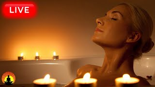 🔴 Relaxing Spa Music 24/7, Meditation Music, Healing Music, Spa Music, Sleep, Stress Relief Music