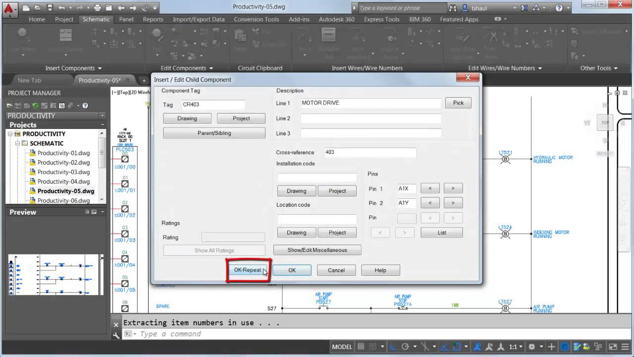 Coil And Contacts Autocad Electrical 2015 Autodesk Youtube