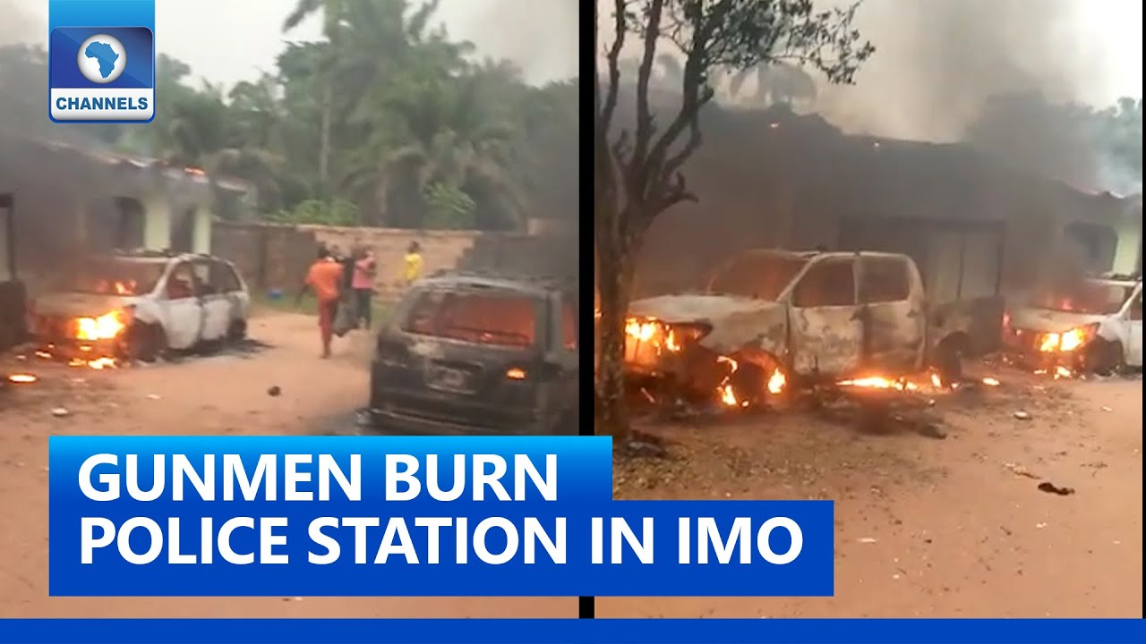 Download Imo Attack: Another Police Station Razed By Gunmen In Ehime-Mbano LGA