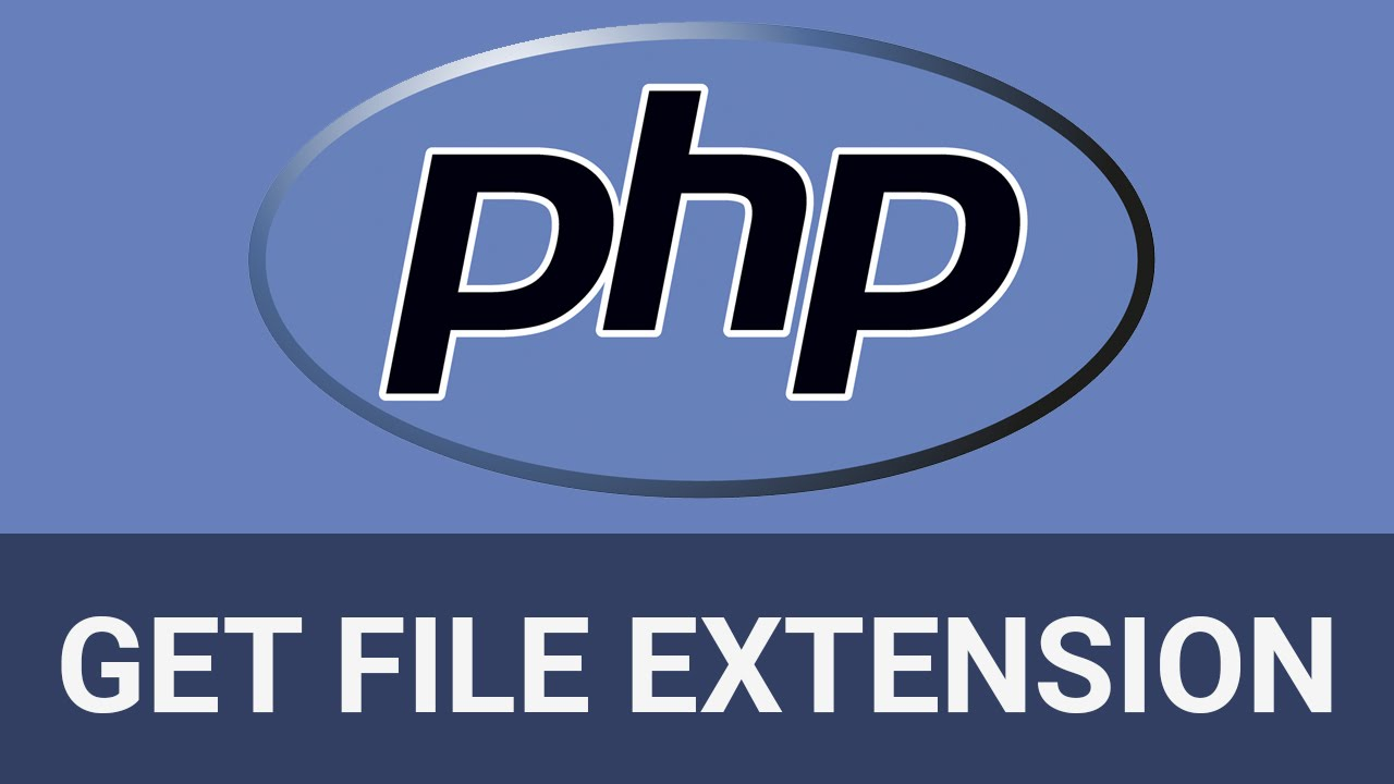 PHP Get File Extension from any Filename using Explode function