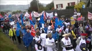 Saône-et-Loire : l'espoir d'un repreneur pour les salariés d'Allia qui ont manifesté en Suisse