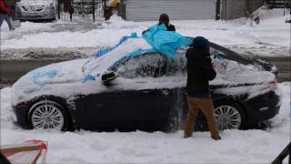How to Shield Your Car from Snow and Protect the Paint