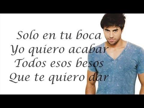 Duele el corazón Enrique Iglesias ft Wisin Letra Lyric Hd  Duele el corazón