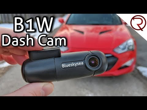 A $55 Dash Camera That Works Great - Blueskysea B1W Dash Cam Review & Sample Videos