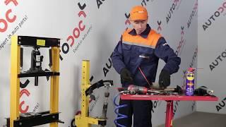Installation Halter, Stabilisatorlagerung HONDA CR-V: Video-Handbuch