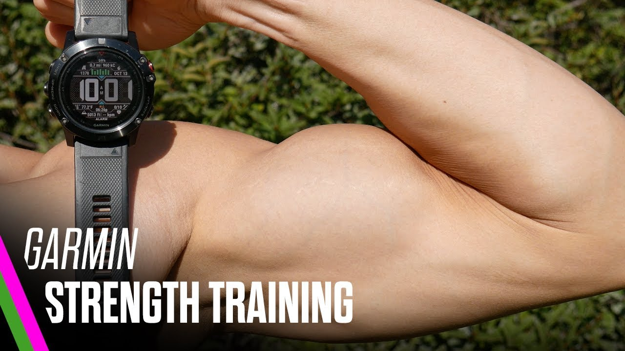 Garmin STRENGTH Training REVIEW/TUTORIAL (fenix/Forerunner 935/VivoActive  3/VivoSmart 3)