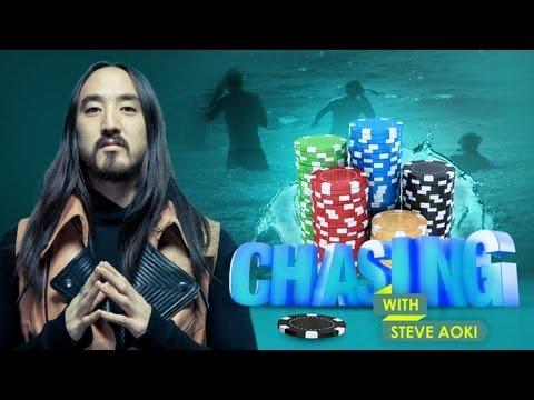SCUBA STEVE'S POKER CHIP CHALLENGE (Chasing with Steve Aoki #6)