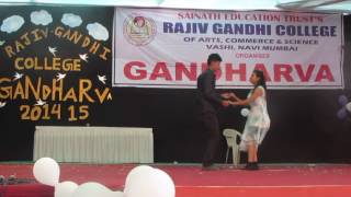 sanso ko jeene ka sahara mil gaya..my best dance profomance salsa dance ..with my best friend.