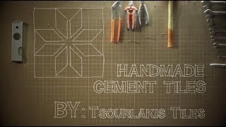 Handmade Cement Tiles by TsourlakisTiles